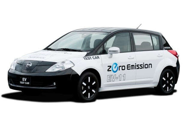 Nissan Test Electric Vehicle-2009