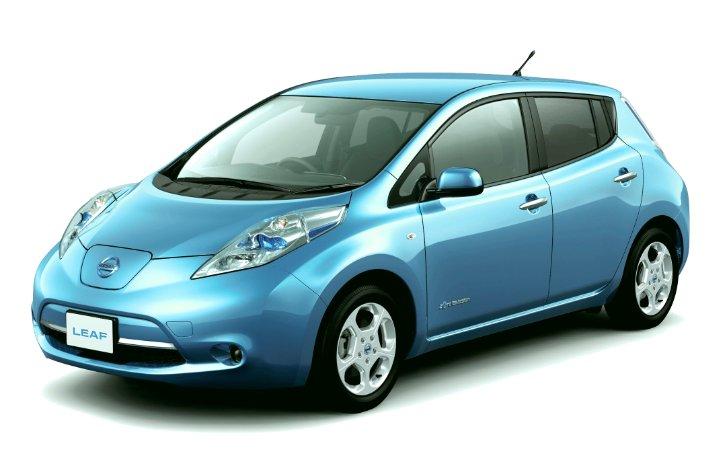 Дизайн Nissan Leaf ZE0 - 2011 - 2017