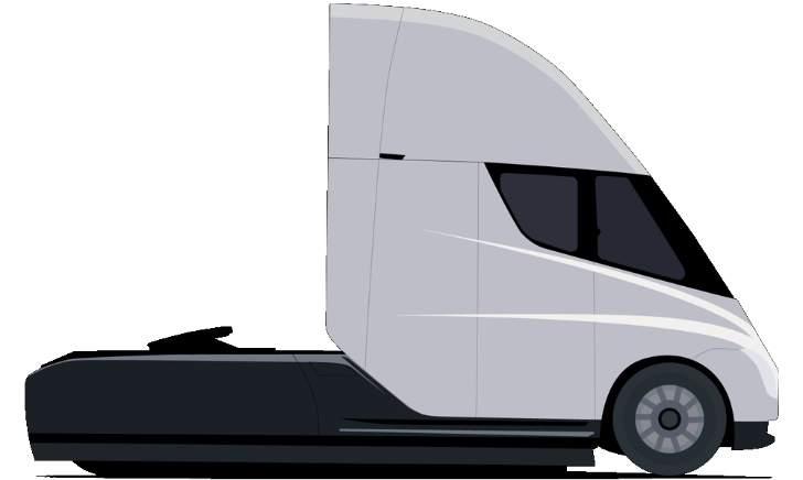 Truck Tesla Semi
