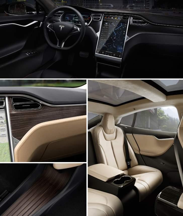 Interior Tesla Model S