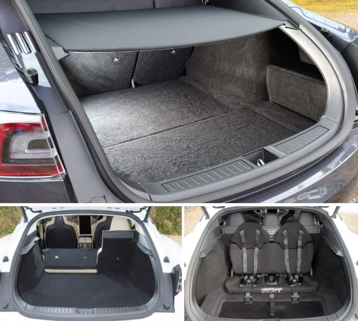 Luggage Space Tesla Model S