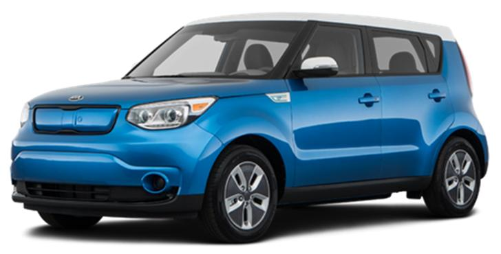 KIA SOUL EV vs competitors