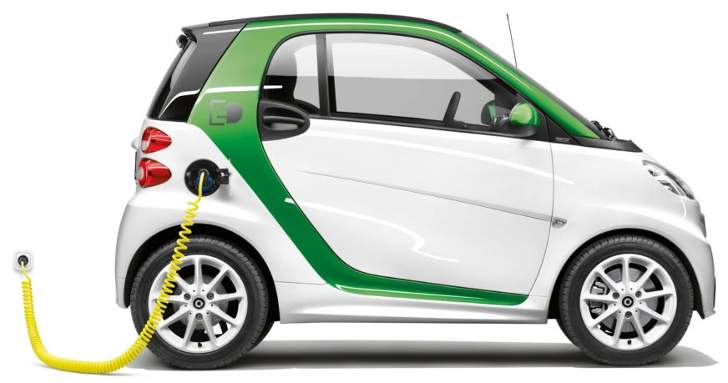 SMART FORTWO Coupe ED vs competitors