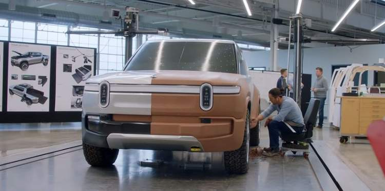 Rivian R1T Styling Design