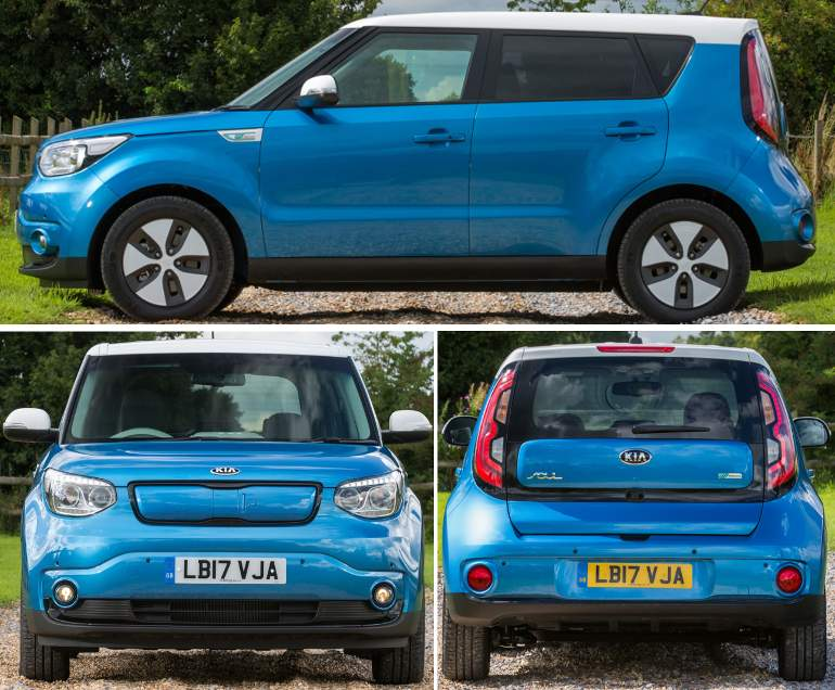 KIA Soul EV eco electric - Дизайн