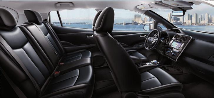 Nissan Leaf BLACK LEATHER
