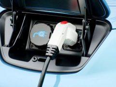Зарядка Nissan Leaf