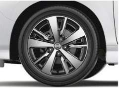 Acenta 16 alloy wheel Nissan Leaf 2018