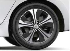 N-Connecta + Tekna 17 alloy wheel Nissan Leaf 2018