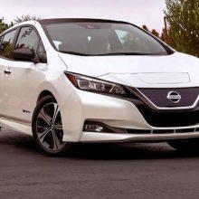 Nissan Leaf e+ с батареей на 62 кВт