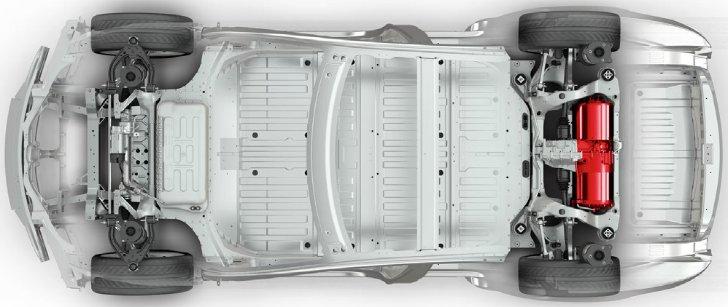 Rear Wheel Drive Tesla Model S