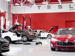 Обслуживание Tesla