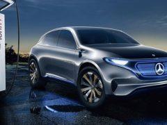 Mercedes EQC для России