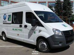 Электрическая ГАЗель NEXT ELECTRO