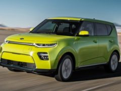 Kia Soul EV — обновленная модель