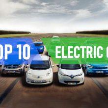 Рейтинг 10 лучших электромобилей