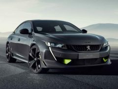 Peugeot 508 Sport Engineered Concept — 2019