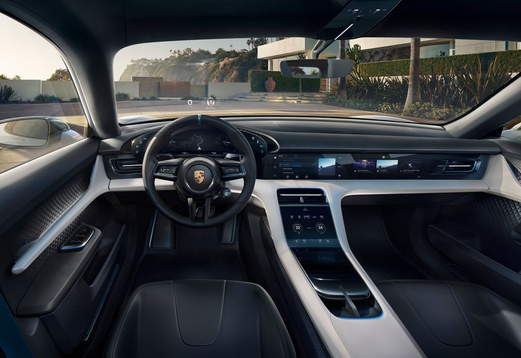 электромобили Porsche