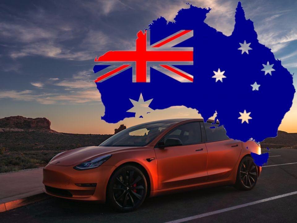 электромобили в Австралии