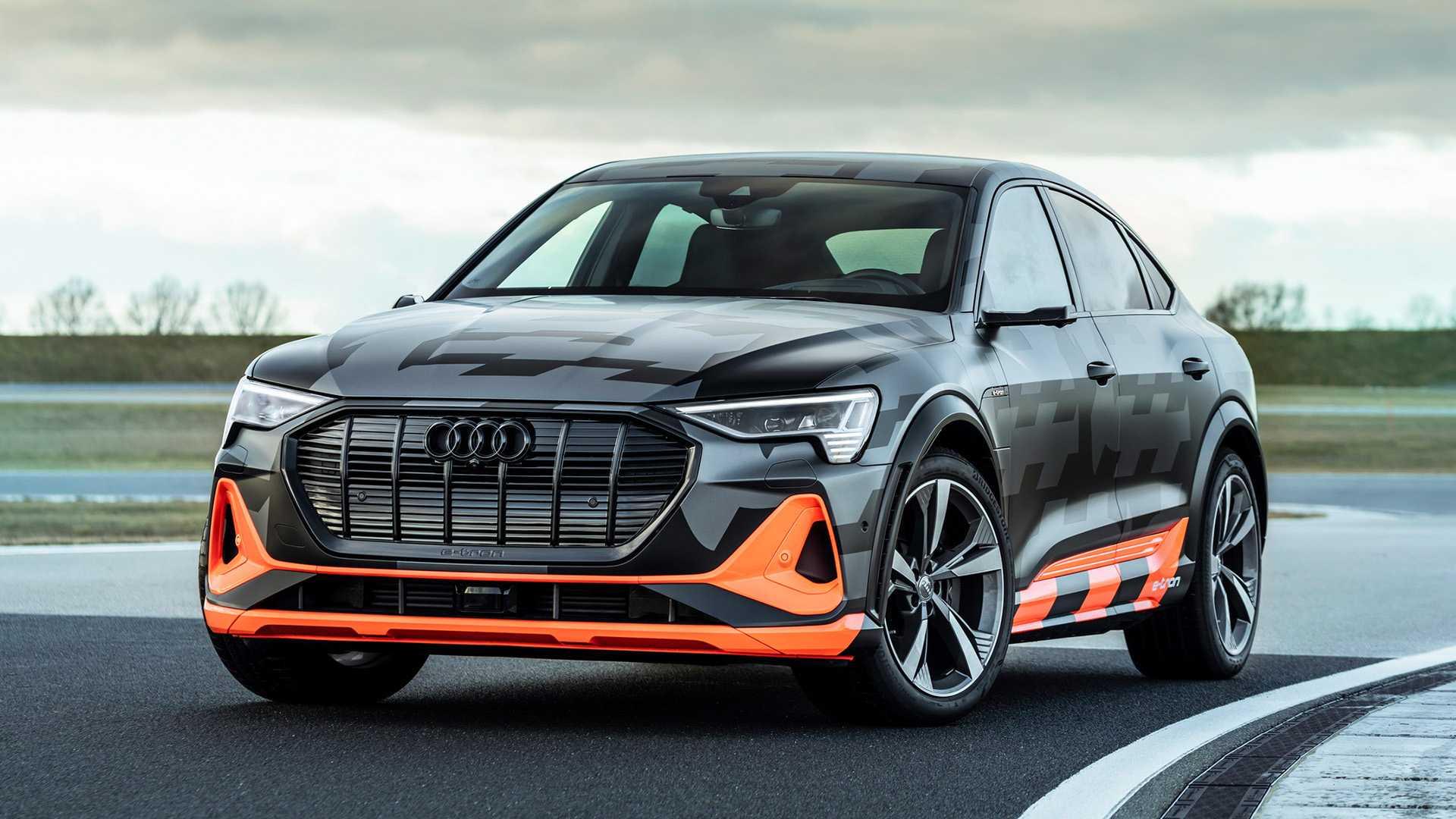 Электромобили Ауди - Audi e-tron