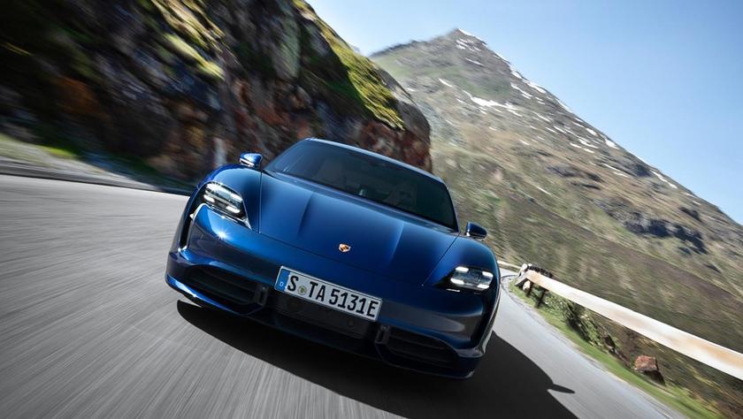 электрокар Porsche