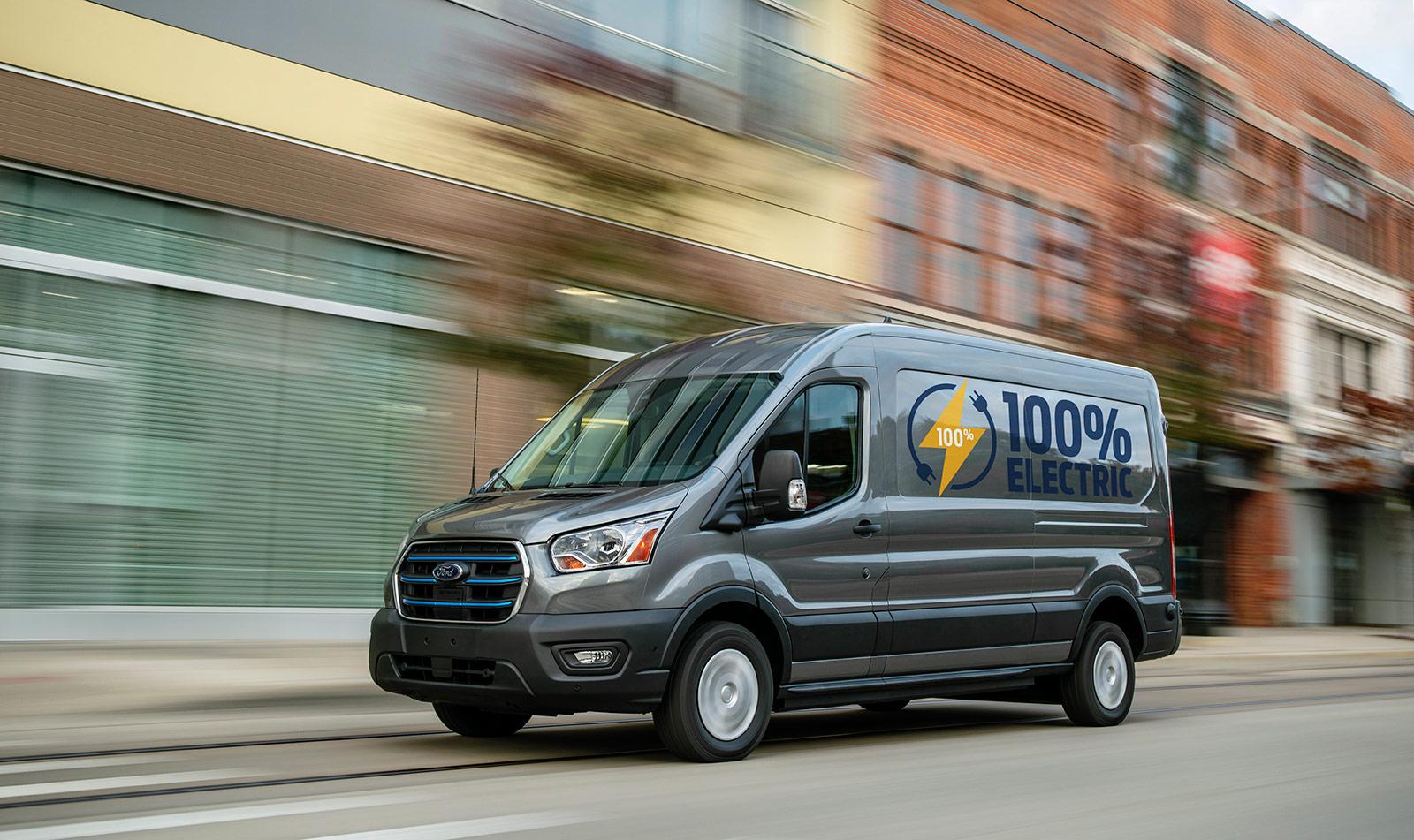 электрический автофургон Ford E-Transit