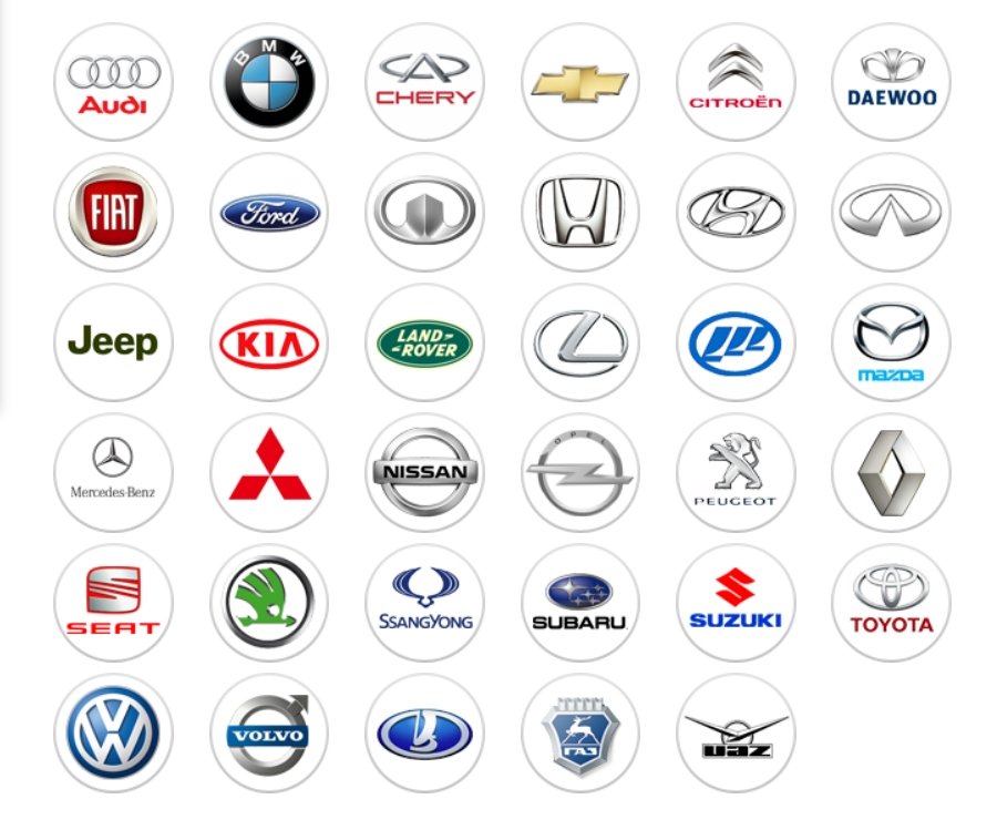 Производители автостекол