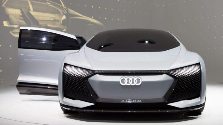 AUDI анонсировала новый электромобиль-трансформер